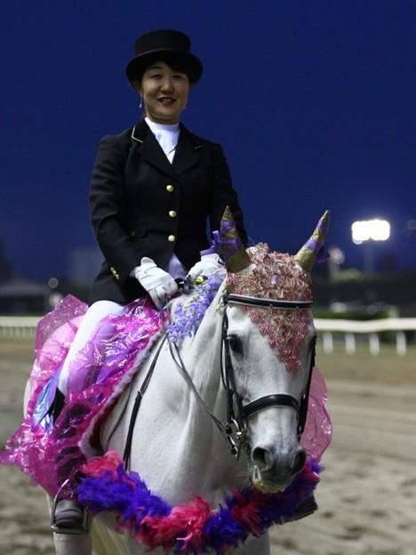 写真: 川崎競馬の誘導馬05月開催 藤Ver-120514-07-large