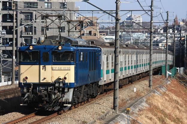 EF64-1030+203系100番台マト64編成
