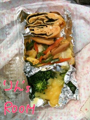 写真: お弁当!
