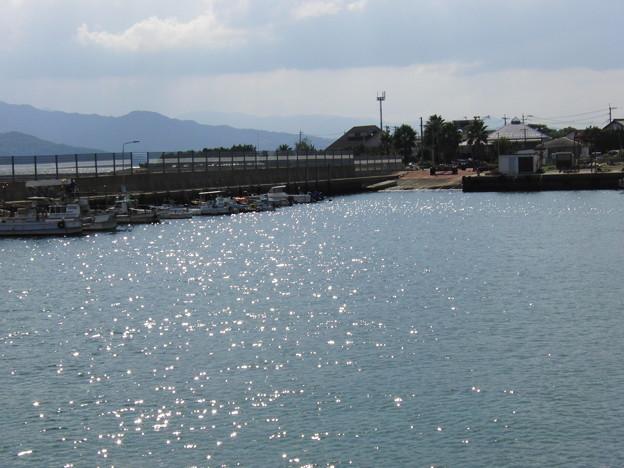 フェリーから見た海面のキラキラ2
