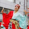 写真: ちゅうしゃし隊_15 - 第11回 東京よさこい 2010