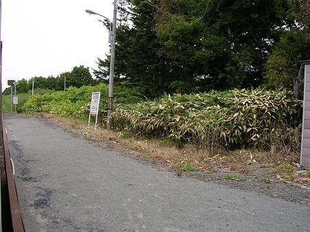 徳満駅ホーム