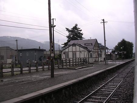 山部駅ホーム2