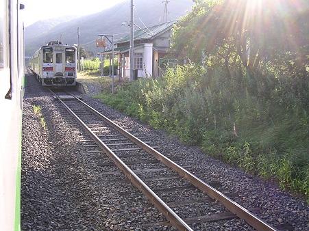 下白滝駅7