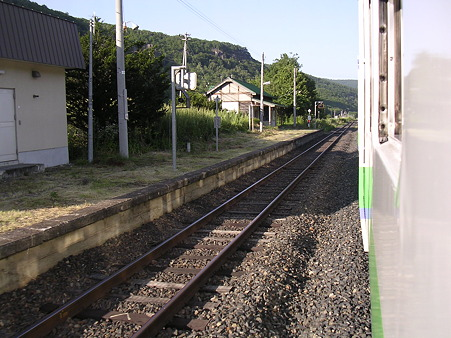 下白滝駅8