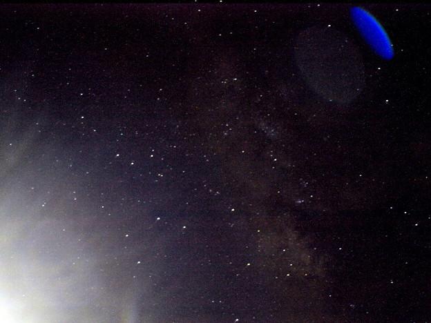 写真: 銀河中央方面