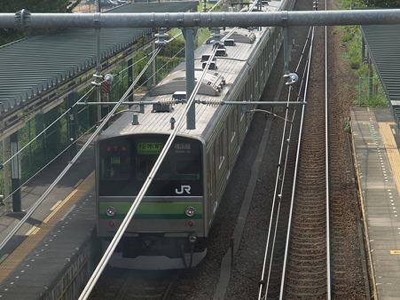 横浜線205系H22編成(相原駅)