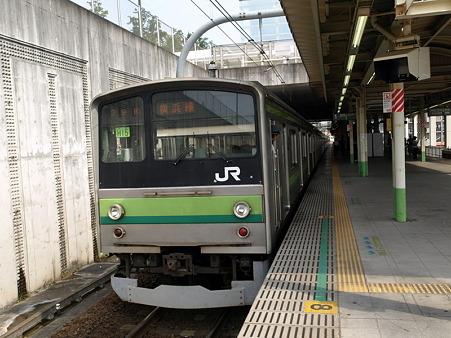 横浜線205系H15編成(八王子みなみ野駅)2