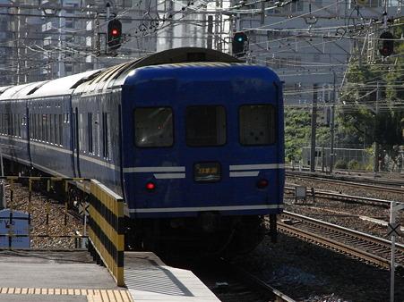 寝台特急日本海11(新大阪駅)
