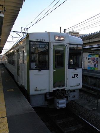 キハ110系(高麗川駅)