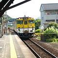 キハ40山口線(宮野駅)1