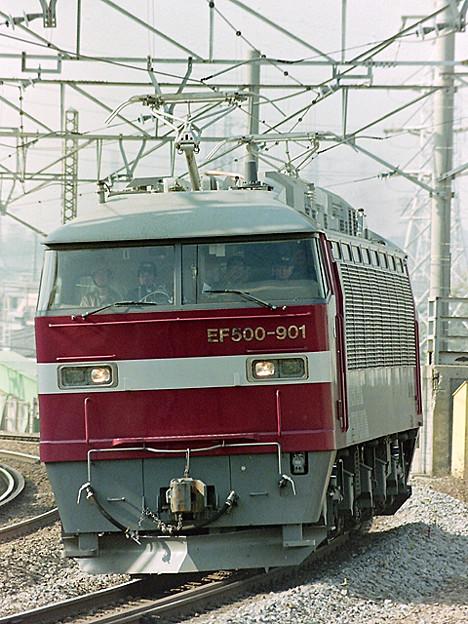 Photos: EF 500-901 【試運転】