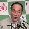 写真: 東国原英夫宮崎県知事退任式2