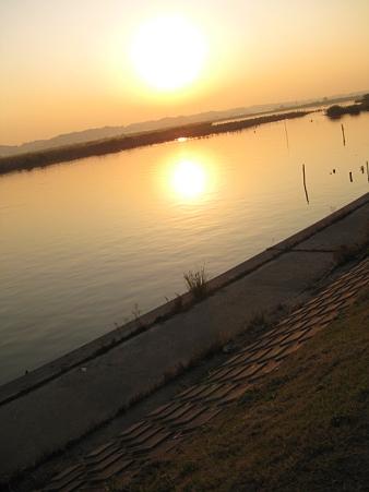 霞ヶ浦湖畔