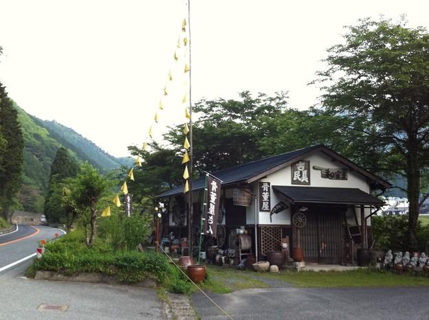 黄色いハンカチと骨董屋と山