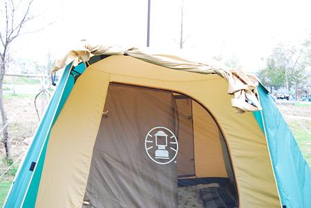 テントのポールが折れてしまいました。