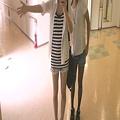 Photos: 足の細長さと手の短さwwwww
