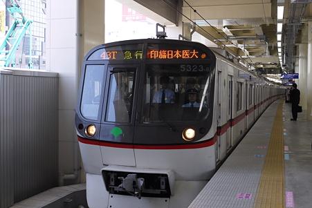 京急蒲田駅4番線 都営5000形