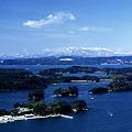 松島湾・冬の島々