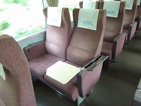 120N-座席全展開