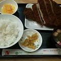 Photos: 串鳥 ビッグチキンカツ定食