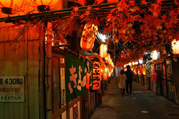 昭和歌謡が似合う街