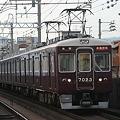 阪急7000系:直通特急宝塚行き