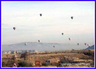 カッパドキア気球観光