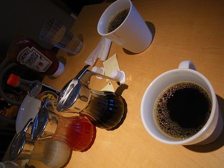 コナコーヒーと待つ