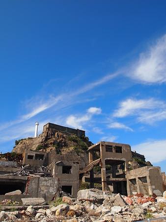 廃墟と化した土地