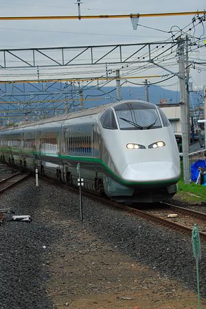 E3系2000番台 羽前千歳駅