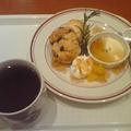 写真: 朝食は救世軍天満小隊近所の...