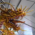2012年 博多祇園山笠 千代流 舁き山 黄金のドラゴン 勢竜吉祥瑞 追い山後の博多駅 写真画像3