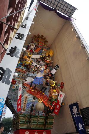 03 2014年 博多祇園山笠 飾り山笠 忠義軍師官兵衛 東流 (4)