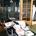 Photos: ただいまマイスタジオにてブラザートム ソロライブのオープニングDJ用...
