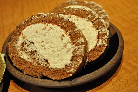ロールケーキ ココア