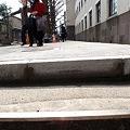 写真: 東京工業大学本館 歩道