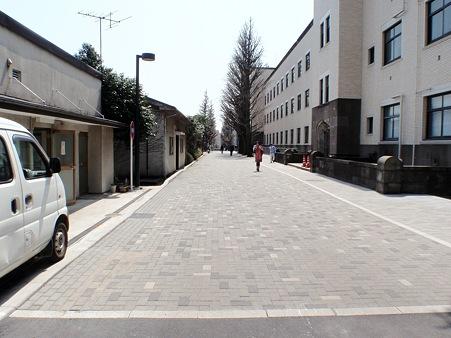 東京工業大学大岡山キャンパス 本館東側道路