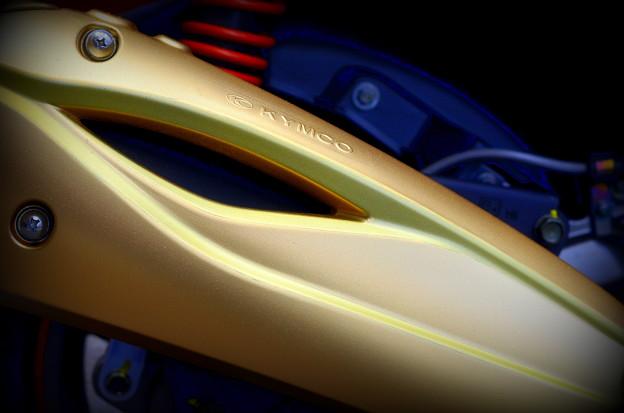 レーシングキングマフラーカバー塗装Ver2?