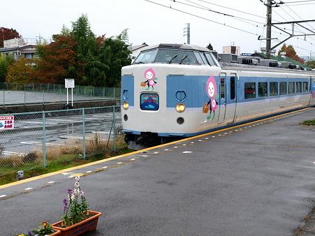189系(富士吉田駅)2
