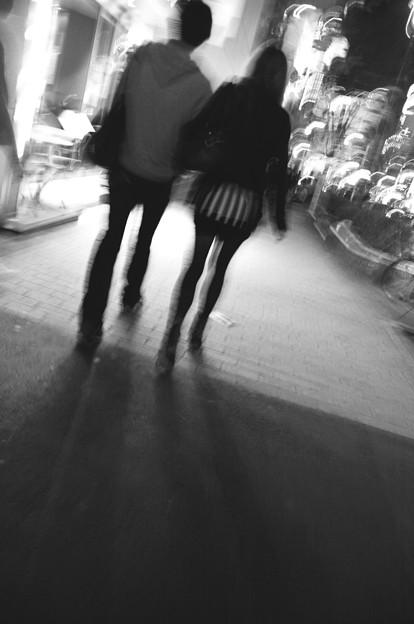東京散歩-光の中へ
