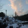 Photos: 雪の日の夕暮れ