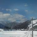 Photos: snow(^ω^*)電車にて☆