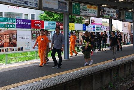 2012.06.06 鎌倉 江ノ電鎌倉駅 TVロケ