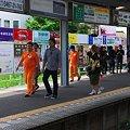 写真: 2012.06.06 鎌倉 江ノ電鎌倉駅 TVロケ