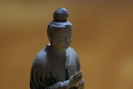 2010.11.15 東京国立博物館 東大寺大仏 法華堂の月光菩薩