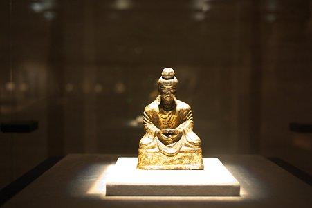 2010.11.15 東京国立博物館 仏像の道-インドから日本へ 如来坐像 中国