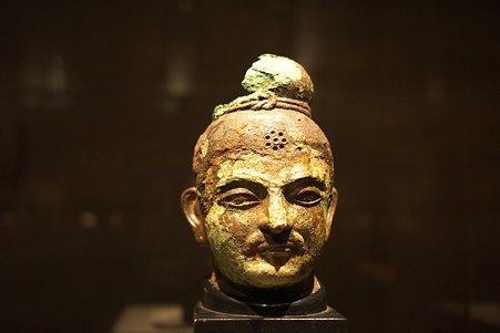 2010.11.15 東京国立博物館 仏像の道-インドから日本へ 仏頭 ホータン