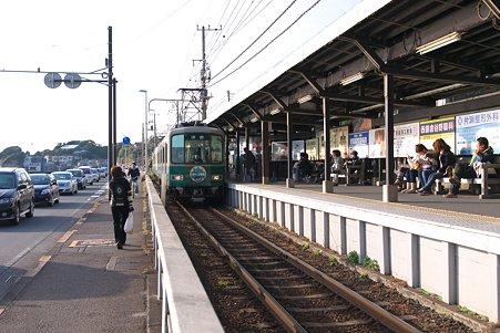 2010.12.12 七里ヶ浜 江ノ電