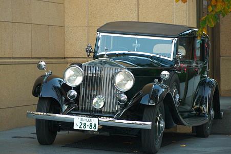 2010.12.20 有楽町 ザ・ペニンシュラ東京 ロールスロイス